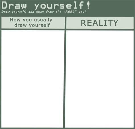 Drawing Meme - draw yourself meme by ikure on deviantart