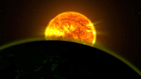 flight from the water planet signs of water found on 5 planets by hubble telescope
