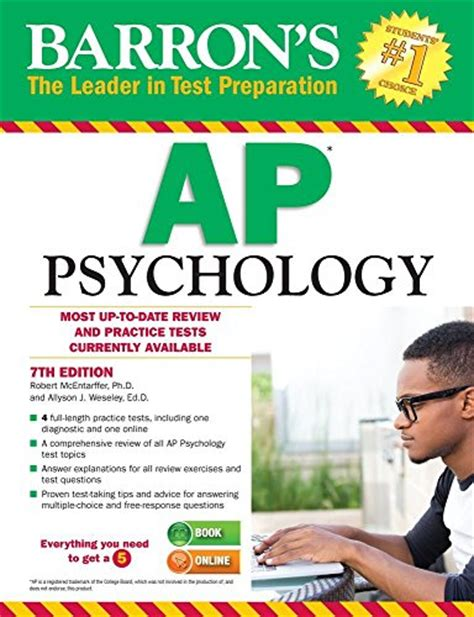 sterling test prep ap psychology complete content review for ap psychology books barron s ap psychology 7th edition barron s ap