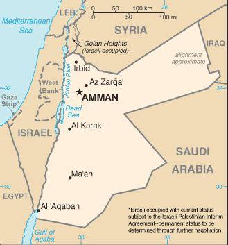 Geographyiq World Atlas Middle East Map Of Jordan