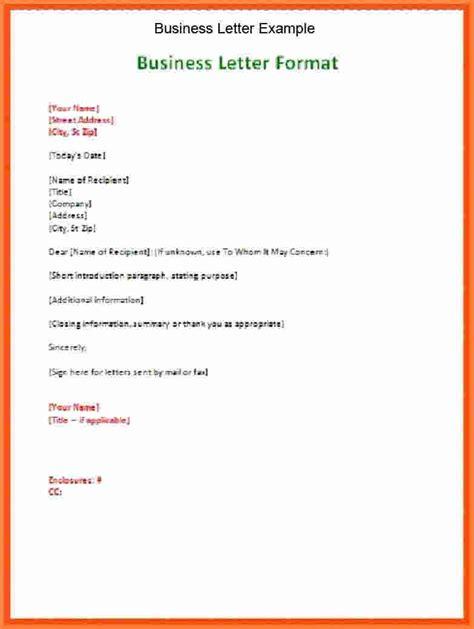 cover letter spacing business letter sample
