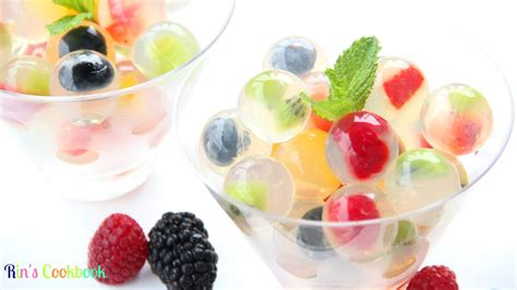 fruit jello how to make fruit jelly bubbles ว นล กแก วผลไม