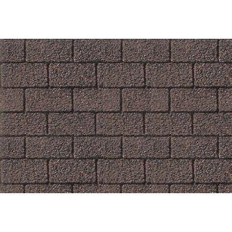 pattern sheets asphalt shingle ho scale  pk