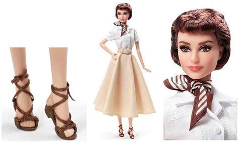 barbie collector  audrey hepburn en vacaciones