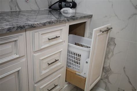 Laundry Pull Out Cabinet by Laundry Her Pull Out