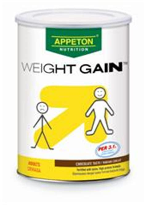 Appeton Weight Gain 450gr appeton health for