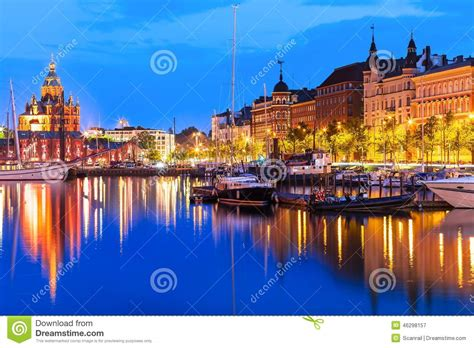 Old Town In Helsinki, Finland Stock Photo   Image: 46298157