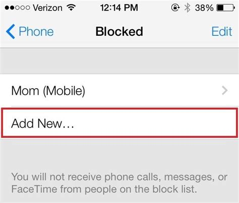 how to block a phone number on an android how to block any caller s phone number on your iphone in ios 7 even if they re not in
