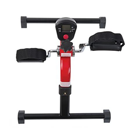 healthsmart bicycle style pedal exerciser with digital healthsmart lightweight pedal exerciser with folding legs
