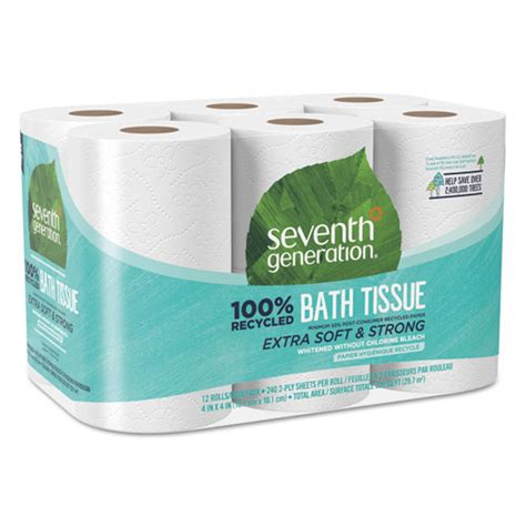 seventh generation bathroom tissue sev13733pk seventh generation 100 recycled bathroom