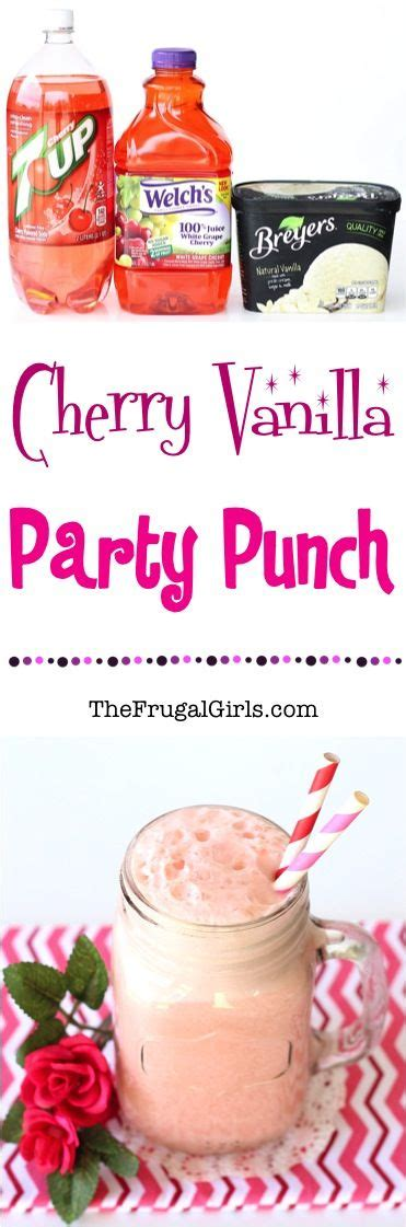 easy punch recipe for bridal shower cherries wedding and punches on