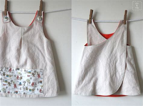 pattern for artist apron roly poly pinafore made by you mie pattern by imagine