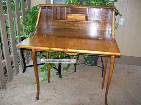 Antique Ladies Writing Desk Antique Maple Drop Lid Antique Drop Desk