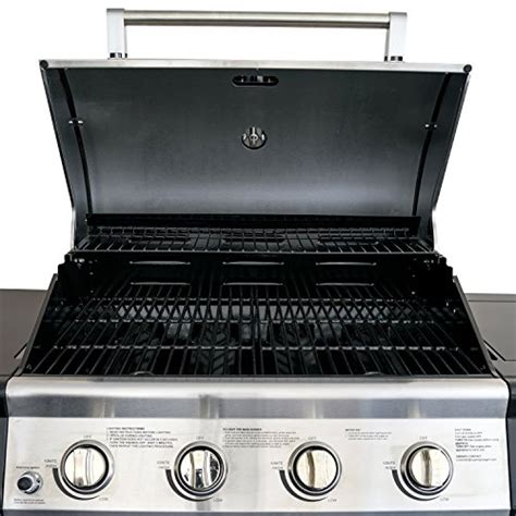 backyard grill stainless steel 4 burner gas grill super space premium quality patio stainless steel barbecue