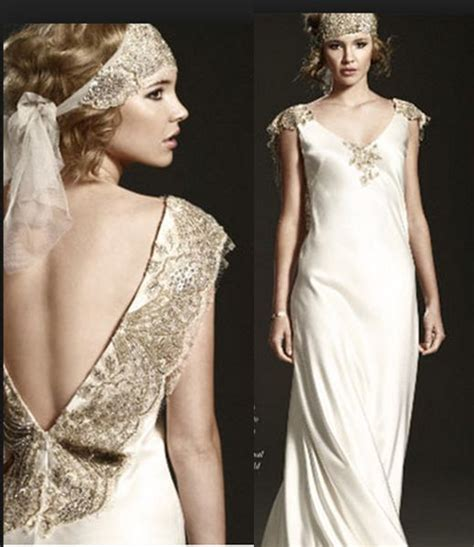 1920s flapper wedding dresses 1920 vintage flapper wedding dress style weddings