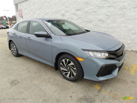 grey honda 2017 sonic gray pearl honda civic lx hatchback 118602351