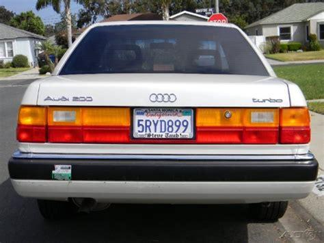 audi 100 200 1989 1990 1991 exhaust system emission 1990 audi 200 quattro turbo images