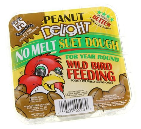c and s peanut delight no melt suet dough hy vee aisles