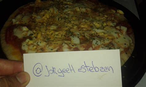 la pizza es alta 8441538301 me hice alta pizza y te lo muestro foto receta