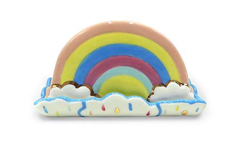 Rainbow Butter rainbow shaped butter dish home garden george