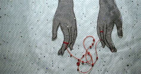 the invisible thread between two people who are meant to
