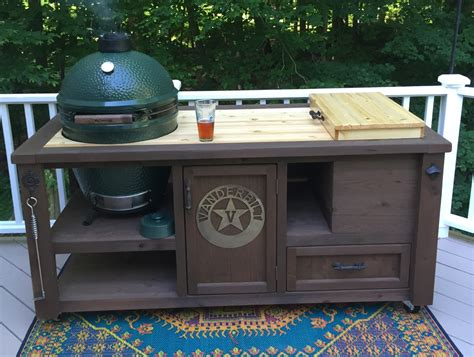 Big Green Egg Tables For Sale by Big Green Egg Grill Tables For Sale