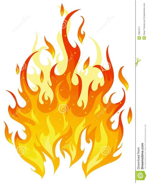 vector fire stock vector image of inferno background