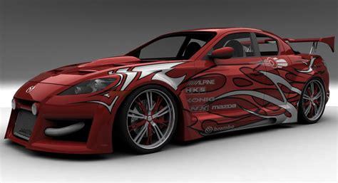 cars series mazda rx 8 modification