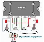 Audio Kit TDA8560Q 2 &215 40 Watt Ωhm Stereo BTL Power