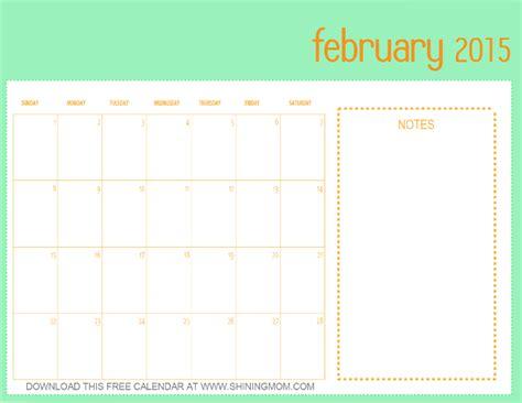 calendar template for february 2015 designs you ll free printable february 2015 calendar
