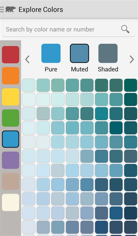 color swatch paint chip app colorsmart by behr 174 mobile android apps on play