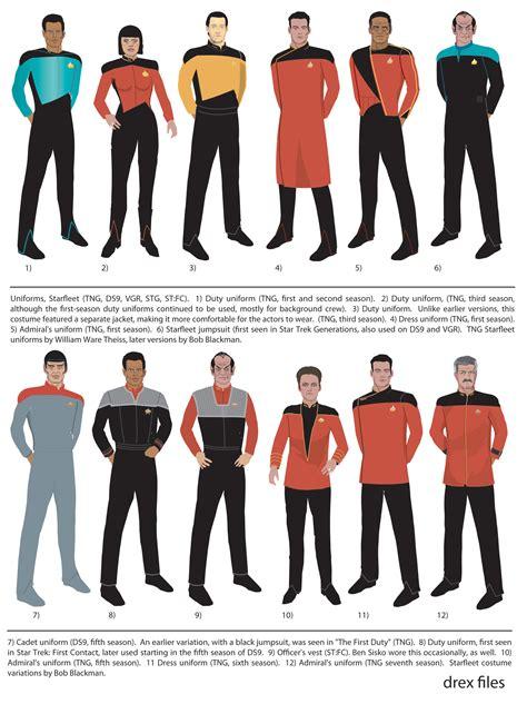 starfleet colors starfleet uniforms ranks and divisions 101st fleet