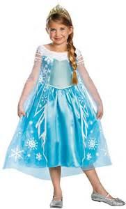 Disney frozen movie elsa child costume 311273 trendyhalloween com
