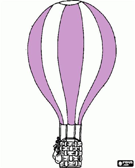 Montgolfiere 224 Colorier Imprimer Montgolfiere