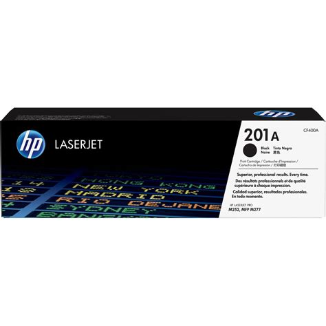 Promo Hp 201a Black Original Laserjet Toner Cartridge Cf400a hp 201a toner cartridge hewcf400a terrific prices