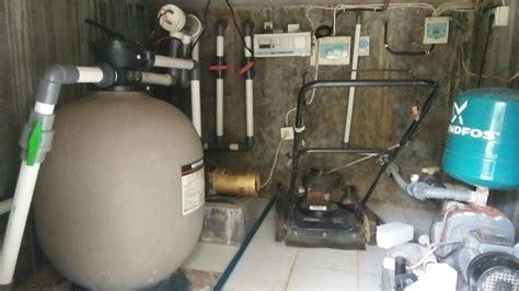 pemasangan mesin dan instalasi kolam renang di bali