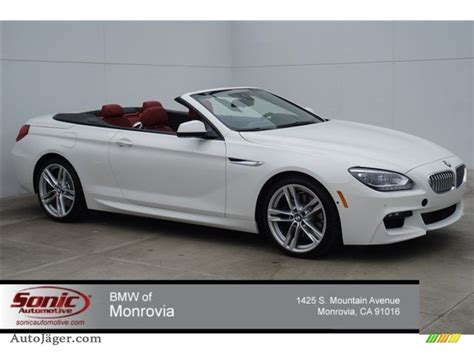 Bmw 650i 2015 by 2015 Bmw 6 Series 650i Convertible In Alpine White