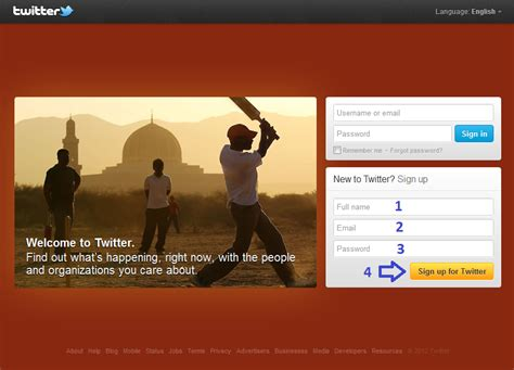 cara membuat twitter beserta gambarnya cara membuat akun twitter