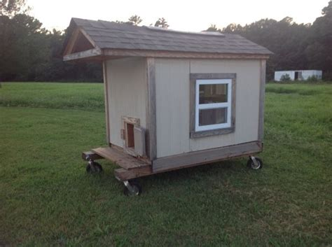 Mobile Chicken Shed by Mobile Chicken Coop For The Home