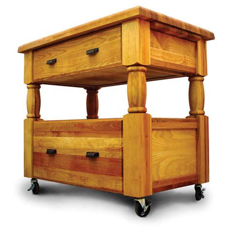 40 quot catskill craftsmen portable europa portable island removable cutting boards
