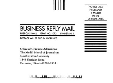 format for business envelope addressing addressing