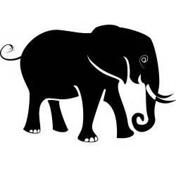 elephant silhouette vector elephant vector silhouette flickr photo