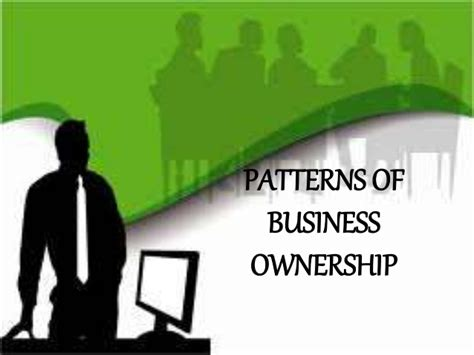 pattern of business ownership patterns of business ownership