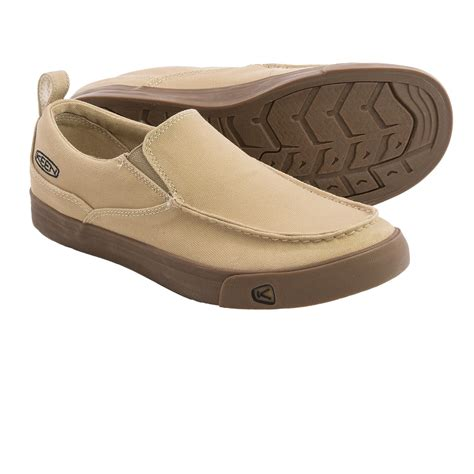 keen timmons slip on shoes canvas for in kelp