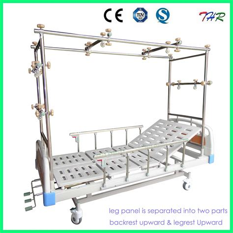 traction bed china 3 crank manual orthopaedics traction bed thr tb321 photos pictures made in