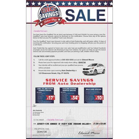 Kia Marketing Kia Marketing Snap Pack Mailer Sle For Automotive