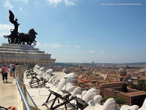 terrazza vittoriano monumenti nazionali vittorio emanuele ii vittoriano roma