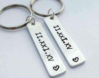 Boyfriend girlfriend couples keychain his by