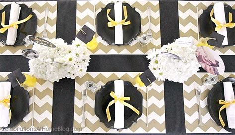 Graduation party ideas modern classic style celebrations at home