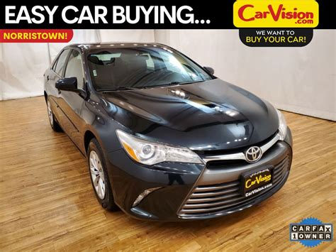 pre owned  toyota camry le rear camera fwd  sedan